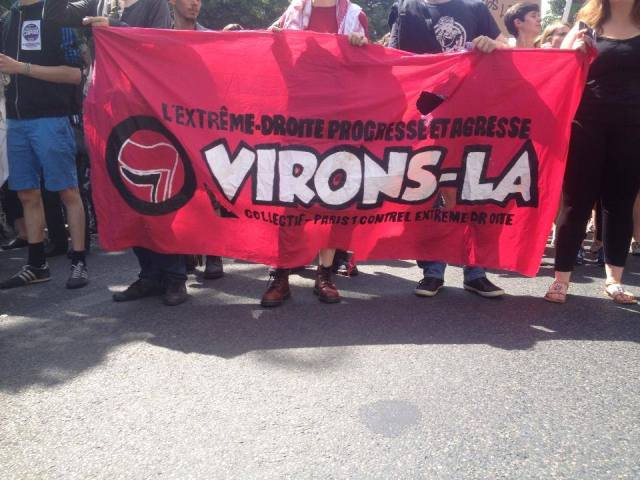 manif antifa paris