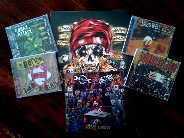 Le prix Rebel Time Records prize package