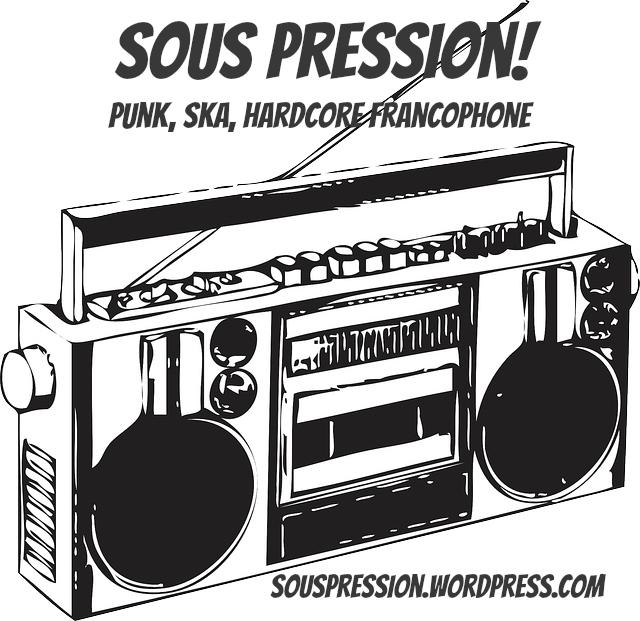 SP radio sticker
