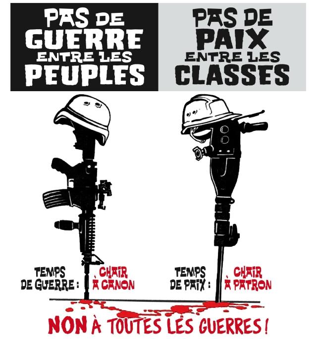 affiche anti-guerre