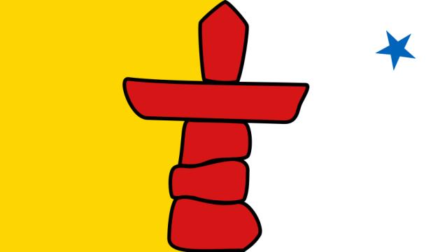 drapeau du Nunavut - Nunavut flag