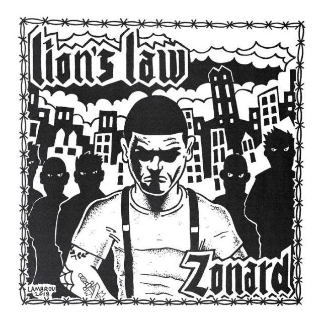 lion's law - zonard cover